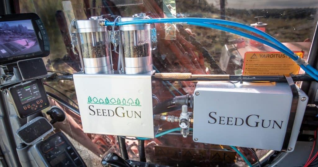 SeedGun laitteisto